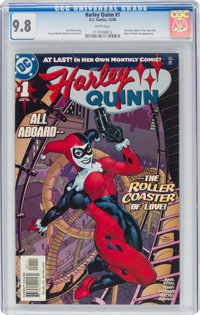 Harley Quinn #1 (DC, 2000) CGC NM/MT 9.8 White pages