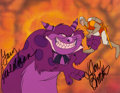 Animation Art:Production Cel, Dragon's Lair Dirk Production Cel Signed by Don Bluth and Gary Goldman (Don Bluth, 1983)....