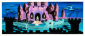 Animation Art:Concept Art, Mary Blair Cinderella Original Concept Painting (Walt Disney, 1950). ...