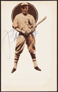 Autographs:Index Cards, c. 1930s Jim Bottomley Signed Index Card....