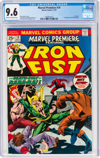 Marvel Premiere #19 Iron Fist (Marvel, 1974) CGC NM+ 9.6 Cream to off-white pages