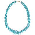 Estate Jewelry:Necklaces, Apatite, Gold Necklace. ...