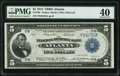 Fr. 790 $5 1918 Federal Reserve Bank Note PMG Extremely Fine 40