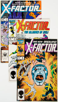 X-Factor Group of 4 (Marvel, 1986-88).... (Total: 4 Comic Books)