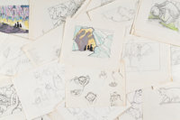 The Secret of NIMH Rough Storyboard Art Group of 272 (Don Bluth, 1982).... (Total: 272 Original Art)