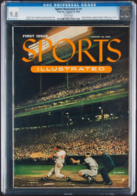1954 Sports Illustrated First Issue, CGC 9.8 - None Higher!