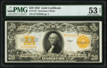 Large Size:Gold Certificates, Fr. 1187 $20 1922 Gold Certificate PMG About Uncirculated 53 EPQ.. ...