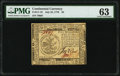 Colonial Notes:Continental Congress Issues, Continental Currency July 22, 1776 $5 PMG Choice Uncircula...