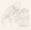 Animation Art:Production Drawing, Snow White and the Seven Dwarfs Old ...