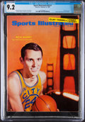 Basketball Collectibles:Publications, 1967 Rick Barry First Sports Illustrated, CGC 9.2 - Pop One with None Higher!...