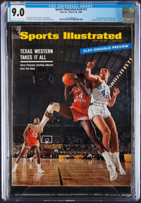 1966 Harry Flournoy & Pat Riley First Sports Illustrated, CGC 9.0 - Pop Two with One Higher!
