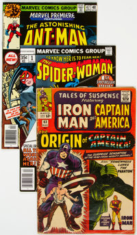 Marvel Silver-Modern Age Comics Group of 43 (Marvel, 1960s-80s) Condition: Average VG.... (Total: 43 Comic Books)
