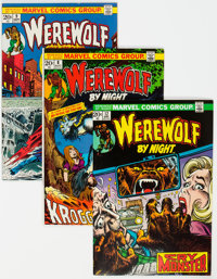 Werewolf by Night Group of 9 (Marvel, 1973-74) Condition: Average VF/NM.... (Total: 9 Comic Books)