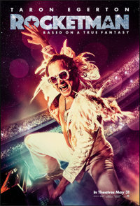 """Rocketman (Paramount, 2019). Rolled, Very Fine. One Sheet (27"""" X 40"""") DS, Advance. Rock and Roll"""