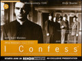 """Movie Posters:Hitchcock, I Confess (Artificial Eye, R-1990s). Rolled, Very Fine. British Quad (30"""" X 40""""). Hitchcock.. ..."""
