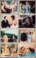 """Movie Posters:James Bond, Dr. No (United Artists, 1962). Fine/Very Fine. British Front of House Color Photo Set of 8 (8"""" X 10). James Bond.. ... (Total: 8 Items)"""