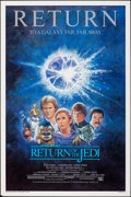 """Movie Posters:Science Fiction, Return of the Jedi (20th Century Fox, R-1985). Rolled, Very Fine-. One Sheet (27"""" X 41"""") SS, Tom Jung Artwork. Science Ficti..."""