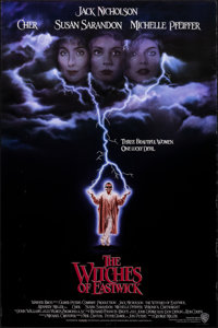 "The Witches of Eastwick & Other Lot (Warner Bros., 1987). Rolled, Very Fine-. One Sheets (2) (27"" X 40.5""..."
