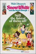 "Movie Posters:Animation, Snow White and the Seven Dwarfs (Buena Vista, R-1975). Folded, Overall: Fine/Very Fine. Australian One Sheet (27"" X 40""), Au... (Total: 12 Items)"
