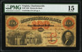 Charlottesville, VA- Monticello Bank $100 Sep. 6, 1860 G30a Jones-Littlefield BC25-40 PMG Choice Fine 15.<