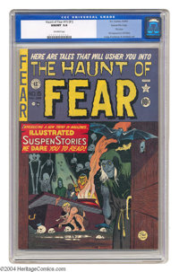 The Haunt of Fear #15 (#1) Gaines File pedigree (EC, 1950) CGC NM/MT 9.8 Off-white pages. This is the first issue of one...