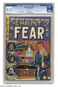 Golden Age (1938-1955):Horror, Haunt of Fear #6 (EC, 1951) CGC NM- 9.2 Off-white to white pages.This issue features EC's first of several unauthorized ada...