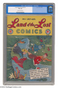 Golden Age (1938-1955):Humor, Land of the Lost #1 (EC, 1946) CGC VF+ 8.5 Off-white to white pages. Based on the Mutual Coast-to-Coast radio program. Only ...