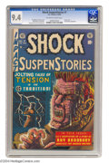 Golden Age (1938-1955):Horror, Shock SuspenStories #7 (EC, 1953) CGC NM 9.4 Off-white to whitepages. This issue represents EC at its best! Among the highl...