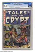 Golden Age (1938-1955):Horror, Tales From the Crypt #31 Gaines File pedigree 9/12 (EC, 1952) CGCNM 9.4 Off-white pages. This issue features the first artw...