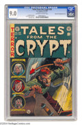 Golden Age (1938-1955):Horror, Tales From the Crypt #38 Gaines File pedigree 12/12 - Double Cover(EC, 1953) CGC VF/NM 9.0 Off-white to white pages. A doub...