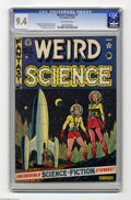 Golden Age (1938-1955):Science Fiction, Weird Science #7 (EC, 1951) CGC NM 9.4 Off-white pages. An AlFeldstein cover graces this collection of tales of science gon...