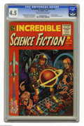 Golden Age (1938-1955):Horror, Incredible Science Fiction #30 Al Williamson File Copy (EC, 1955)CGC VG+ 4.5 Cream to off-white pages. This Comics Code-app...