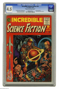 Incredible Science Fiction #30 Al Williamson File Copy (EC, 1955) CGC VG+ 4.5 Cream to off-white pages. This Comics Code...