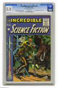 Golden Age (1938-1955):Science Fiction, Incredible Science Fiction #31 Al Williamson File Copy (EC, 1955)CGC VG/FN 5.0 Off-white pages. This issue has Roy Krenkel'...