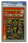 Golden Age (1938-1955):Science Fiction, Incredible Science Fiction #32 Al Williamson File Copy (EC, 1955)CGC FN 6.0 Cream to off-white pages. Jack Davis created on...