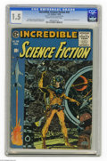 Golden Age (1938-1955):Science Fiction, Incredible Science Fiction #33 Al Williamson File Copy (EC, 1956)CGC FR/GD 1.5 Cream to off-white pages. This was the last ...