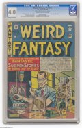 Golden Age (1938-1955):Horror, Weird Fantasy #13 (#1) Al Williamson File Copy (EC, 1950) CGC VG4.0 Cream to off-white pages. What a change it was when EC ...