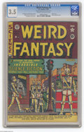 Golden Age (1938-1955):Science Fiction, Weird Fantasy #6 Al Williamson File Copy (EC, 1951) CGC VG- 3.5Cream to off-white pages. Robot cover by Al Feldstein. Inter...