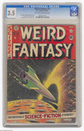 Golden Age (1938-1955):Science Fiction, Weird Fantasy #10 Al Williamson File Copy (EC, 1951) CGC VG- 3.5Light tan to off-white pages. Al Feldstein cover. Jack Kame...