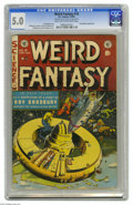 Golden Age (1938-1955):Science Fiction, Weird Fantasy #18 Al Williamson File Copy (EC, 1953) CGC VG/FN 5.0Light tan to off-white pages. Al Williamson teamed up wit...