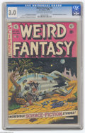 Golden Age (1938-1955):Science Fiction, Weird Fantasy #20 Al Williamson File Copy (EC, 1953) CGC GD/VG 3.0Light tan to off-white pages. Al Feldstein cover. Art by ...