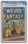 Golden Age (1938-1955):Science Fiction, Weird Fantasy #21 Al Williamson File Copy (EC, 1953) CGC FN- 5.5Light tan to off-white pages. This issue has one of the bes...