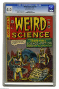 Golden Age (1938-1955):Science Fiction, Weird Science #14 (#3) Al Williamson File Copy (EC, 1950) CGC VG4.0 Light tan to off-white pages. A post-apocalyptic tale d...
