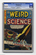 Golden Age (1938-1955):Science Fiction, Weird Science #5 Al Williamson File Copy (EC, 1951) CGC VG- 3.5Light tan to off-white pages. Atomic explosion cover by Al F...
