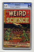 Golden Age (1938-1955):Science Fiction, Weird Science #6 Al Williamson File Copy (EC, 1951) CGC VG/FN 5.0Light tan to off-white pages. Harvey Kurtzman does his bes...