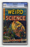 Golden Age (1938-1955):Science Fiction, Weird Science #9 Al Williamson File Copy (EC, 1951) CGC VG+ 4.5Cream to off-white pages. Wally Wood finally got his chance ...