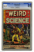 Golden Age (1938-1955):Science Fiction, Weird Science #10 Al Williamson File Copy (EC, 1951) CGC FN- 5.5Cream to off-white pages. Joe Orlando pulled double duty fo...