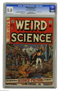 Golden Age (1938-1955):Science Fiction, Weird Science #13 Al Williamson File Copy (EC, 1952) CGC VG/FN 5.0Light tan to off-white pages. More masterful art from the...