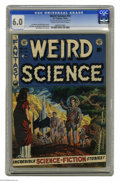 Golden Age (1938-1955):Science Fiction, Weird Science #14 Al Williamson File Copy (EC, 1952) CGC FN 6.0Cream to off-white pages. Regulars Wally Wood (who drew the ...