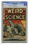 Golden Age (1938-1955):Science Fiction, Weird Science #15 Al Williamson File Copy (EC, 1952) CGC FN 6.0Cream to off-white pages. Al Williamson alert! The young art...